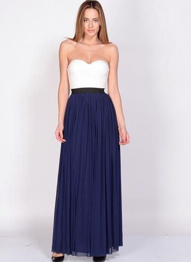 Rare London Elbise Lacivert
